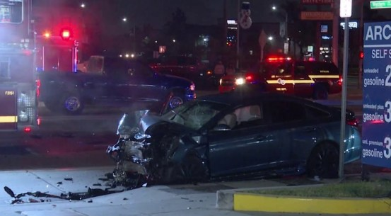 One dead in head-on collision with DUI suspect who left the traffic stop in Gardena – NBC Los Angeles
