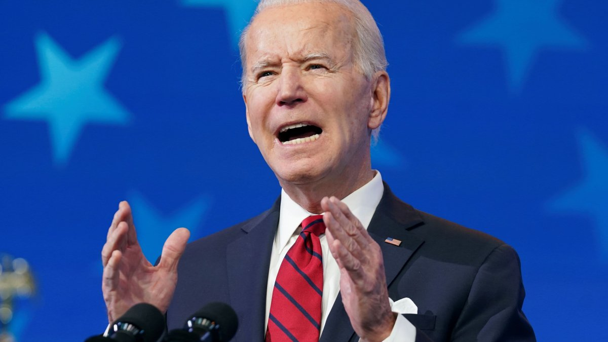 Biden Sets New Covid Vaccine Goal of 200 Million Shots Within His First 100 Days: 'I Believe We Can Do It' 1