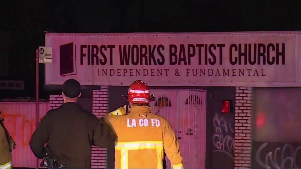 www.nbclosangeles.com: Homemade Bomb Targets El Monte Church With Anti-LGBTQ Pastor