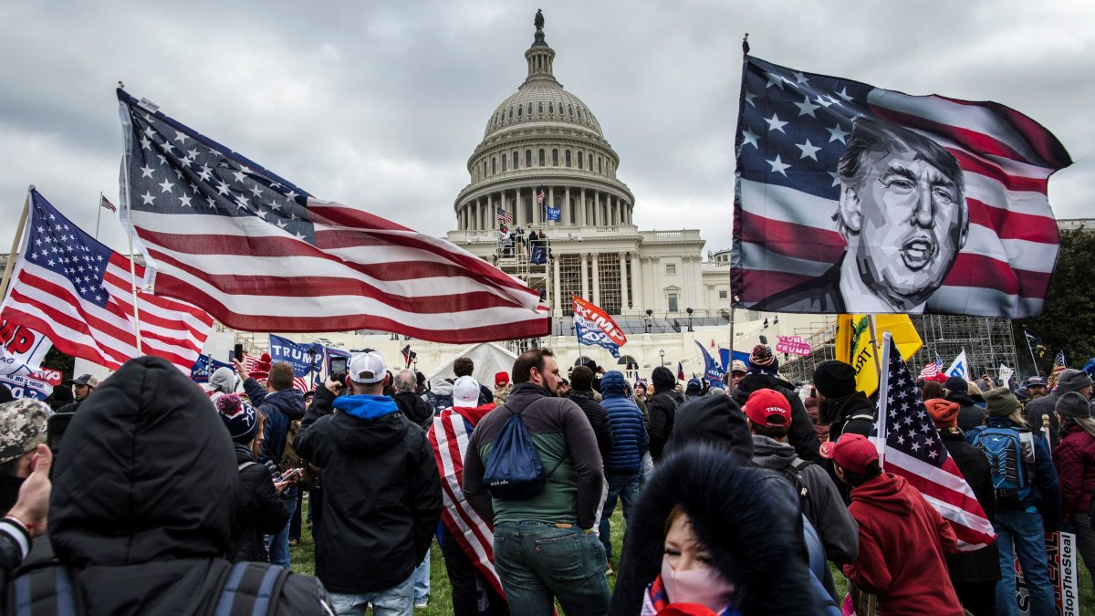 Former State Department Aide Arrested for Role in Capitol Riot 1