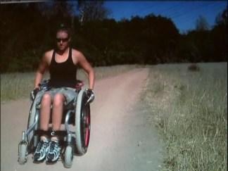 Paraplegic Athlete Trains for Kilimanjaro Climb