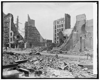 El gran terremoto de 1906 en San Francisco