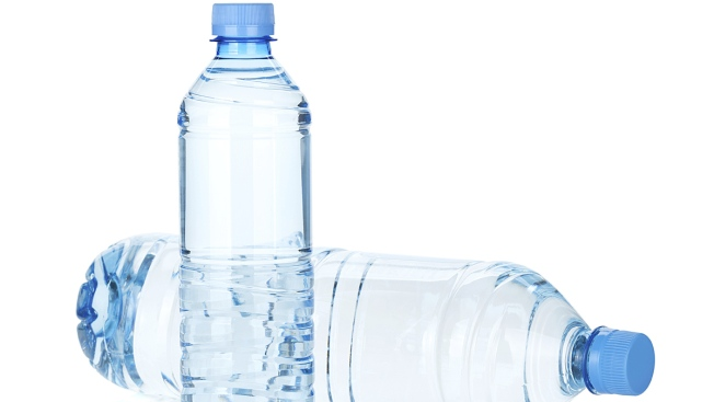 your plastic water bottle