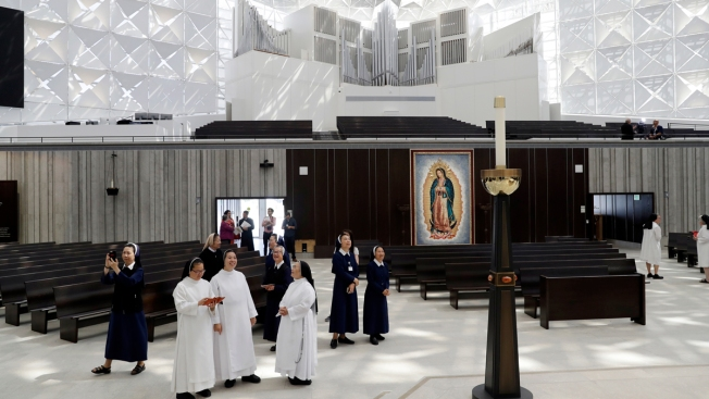 iconic crystal cathedral converted