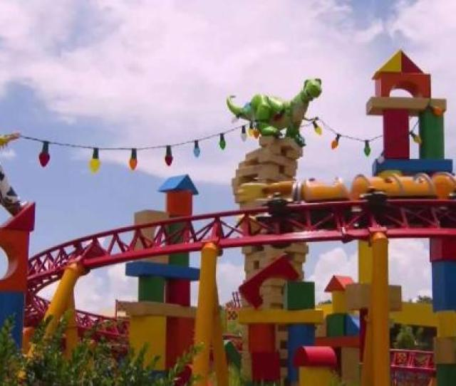 Inside Look At Disneys Toy Story Land Rides