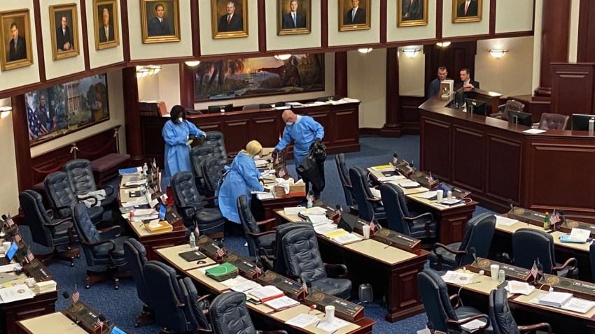 Florida House Evacuates Chamber Floor Amid COVID-19 Threat – NBC 6 ...