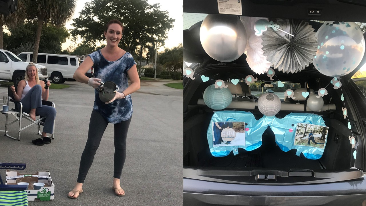 Friends Hold Trunk Baby Shower For Woman After Pandemic Cancels Original Event Nbc 6 South Florida