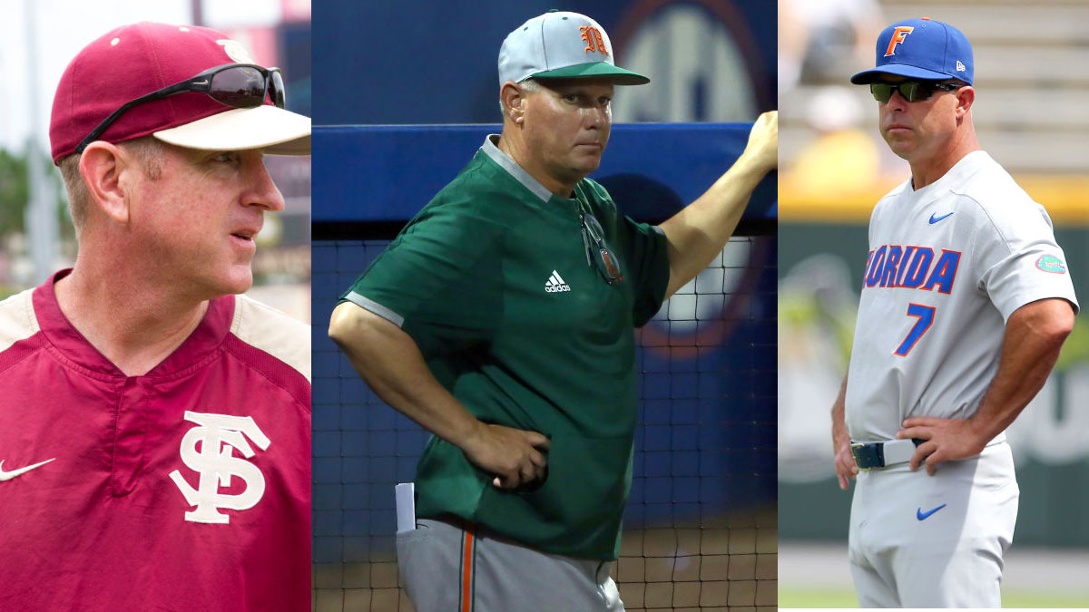 Are Florida's College Baseball Powers in Trouble After Early Postseason Exits?
