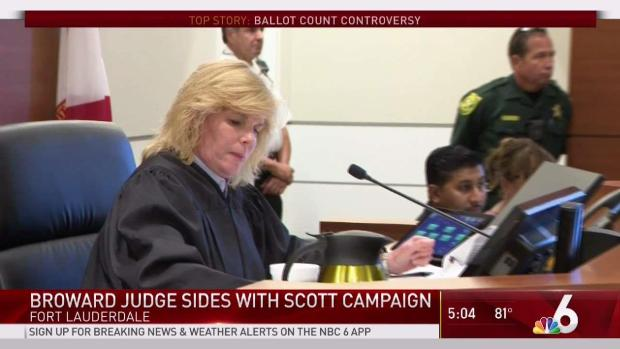 [MI]  Judge Sides With Scott's Campaign in Broward Lawsuit