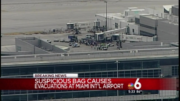 [MI] All Clear After Terminal Evacuated at Miami International Airport