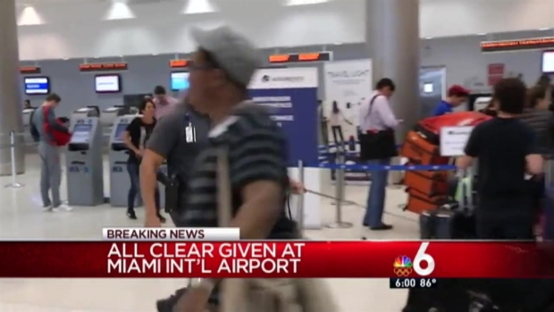 [MI] Authorities Give All Clear After Suspicious Item Found at MIA