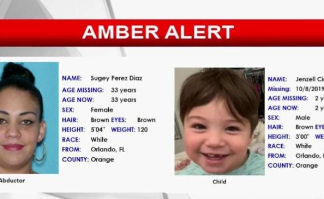 Amber Alert Canceled After Boy Missing From Orlando Found