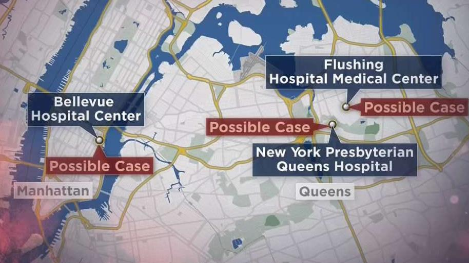 3 Possible Cases of Coronavirus Being Tested in NYC – NBC New York