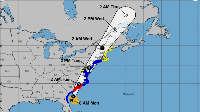 Nyc Tri State Under Tropical Storm Warning As Isaias