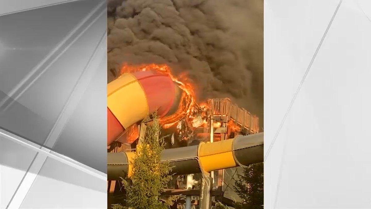 Fire Tears Through Water Slide at Popular NJ Amusement Park