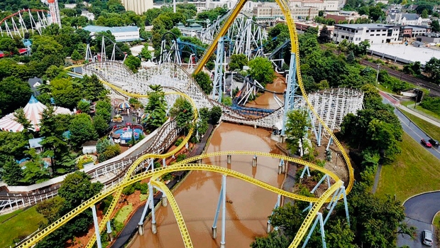 Extreme Weather: Hershey Park Reopens After Flooding