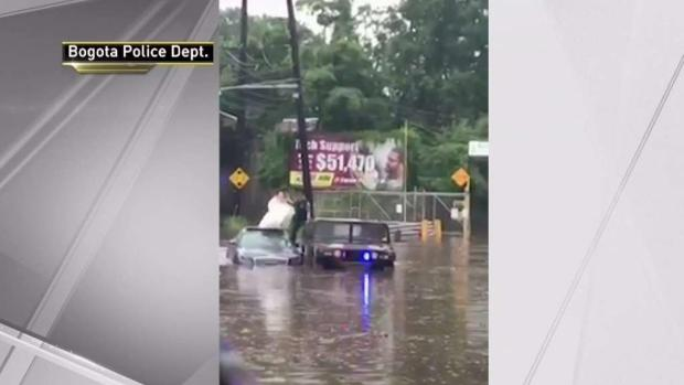 [NY] Newlyweds Saved From New Jersey Flooding