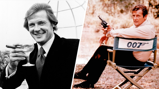 Image result for James Bond actor Sir Roger Moore dies, aged 89