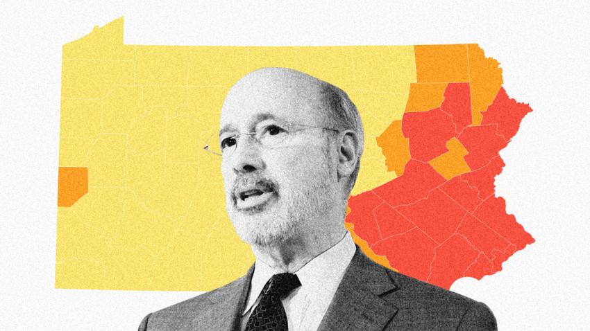 More Pennsylvania Counties Emerge From Coronavirus Red