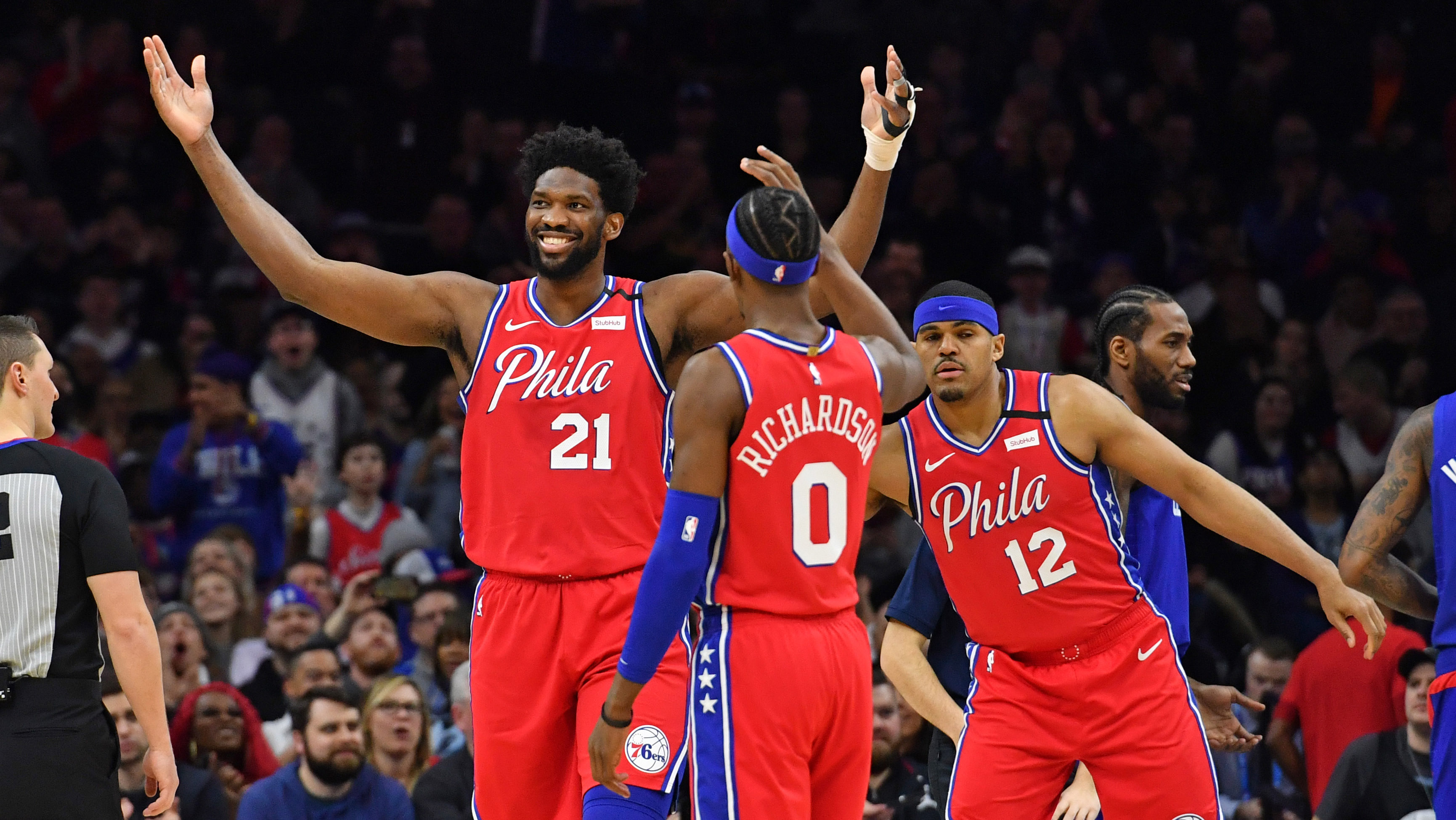 Embiid Simmons Give All Star Efforts In Sixers Win Vs