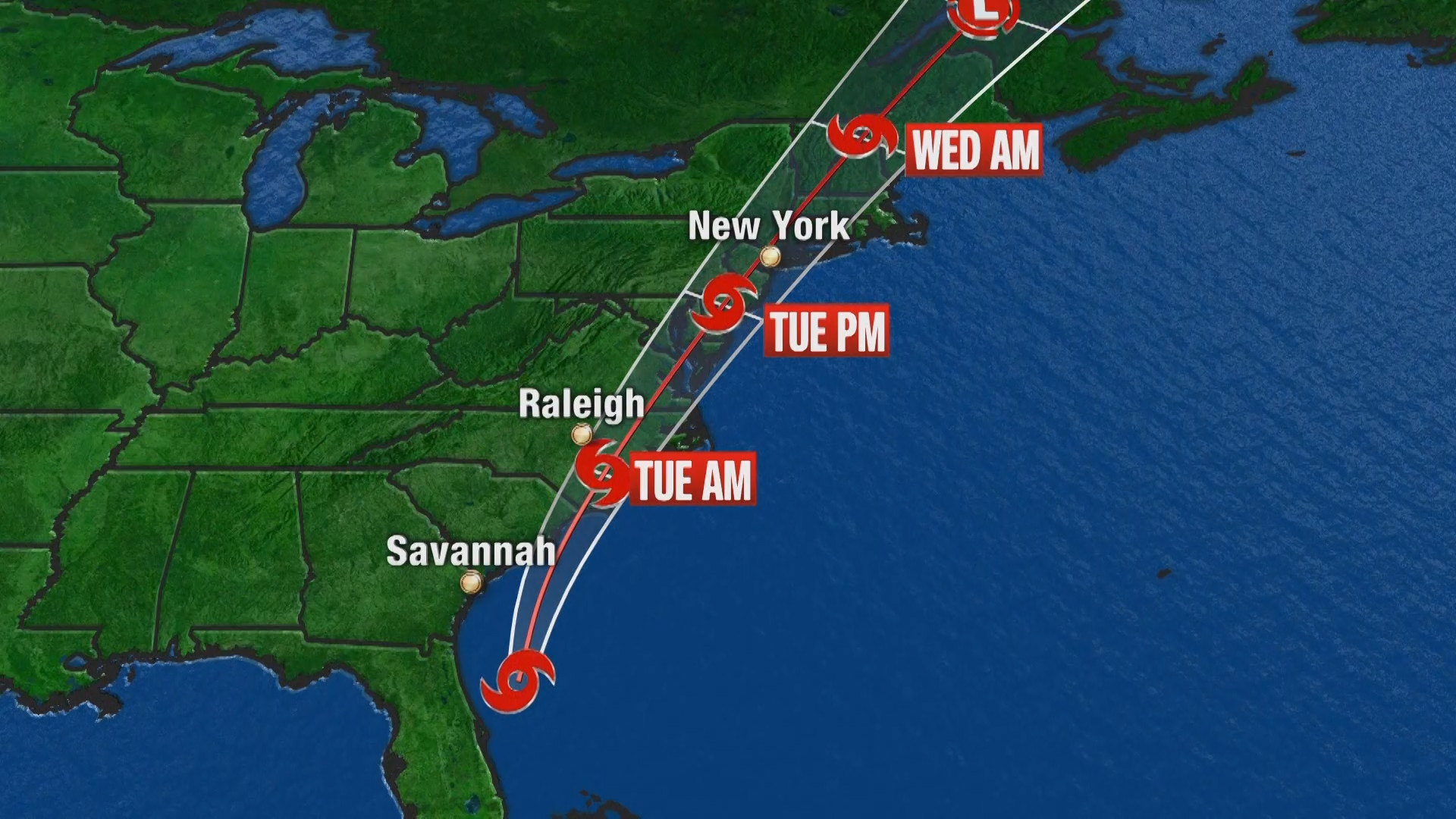 Tropical Storm Warnings For Most Of Philadelphia Region As