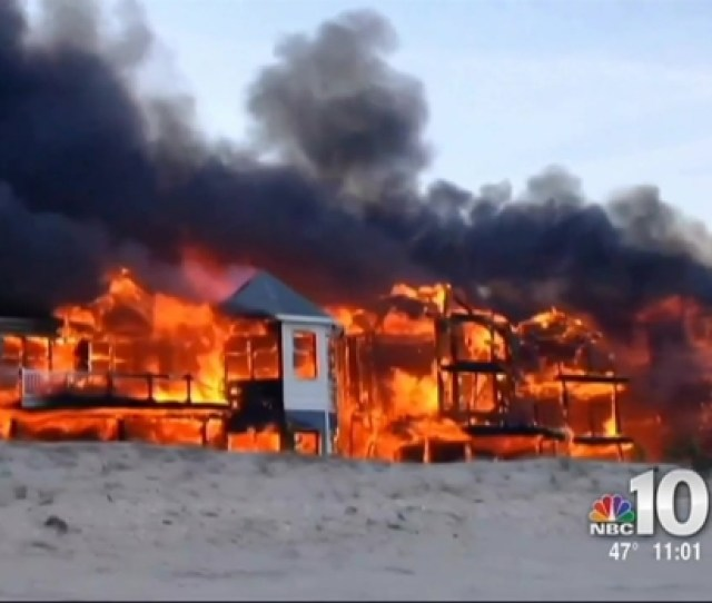 Phi Fire Destroys Beachfront Homes In Sea Isle City