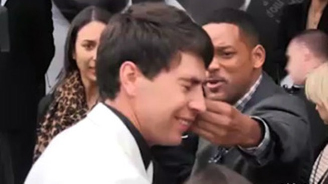 Will Smith Slaps Affectionate Reporter