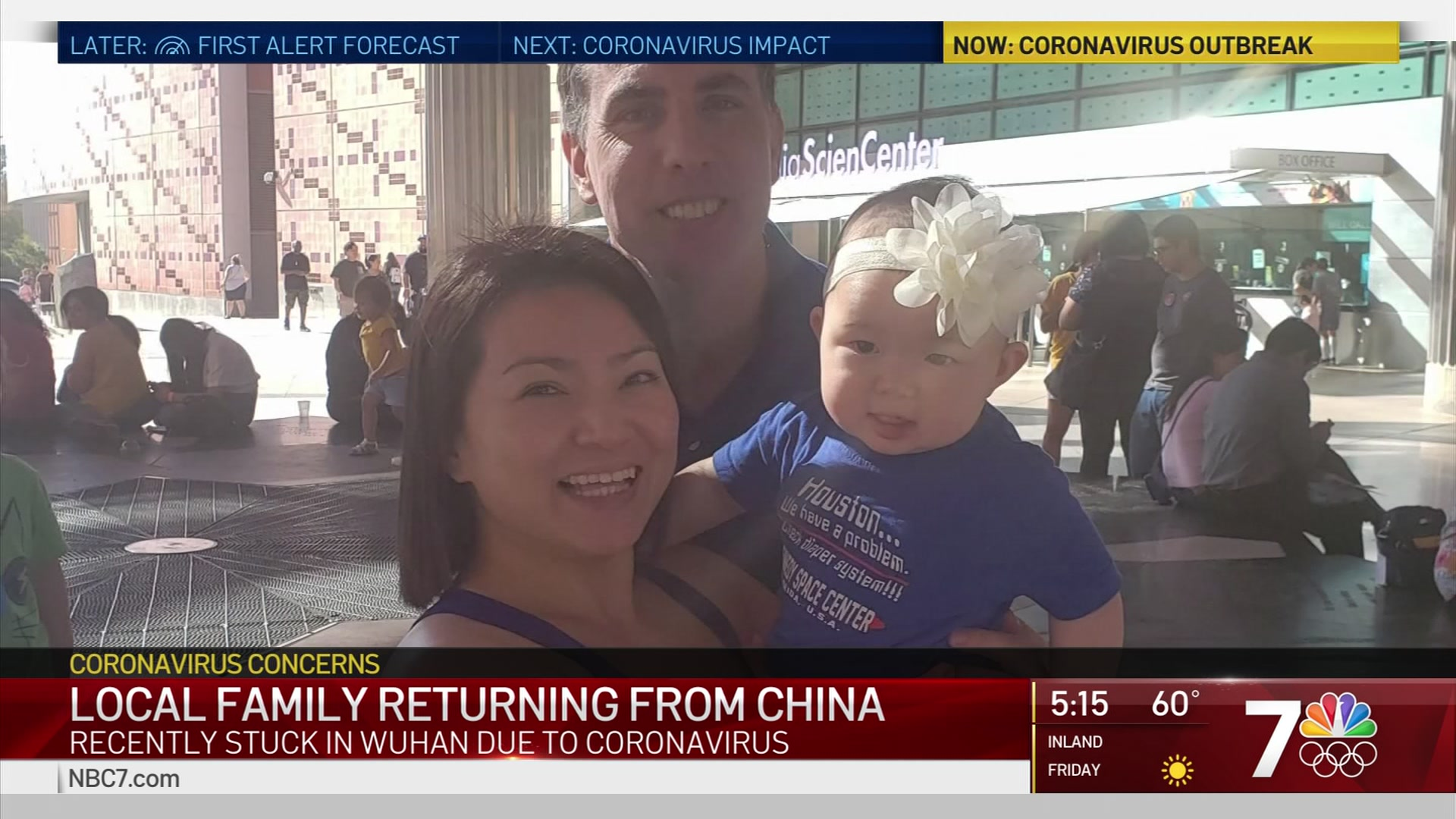 San Diego Family Returns From China Amid Coronavirus Outbreak ...