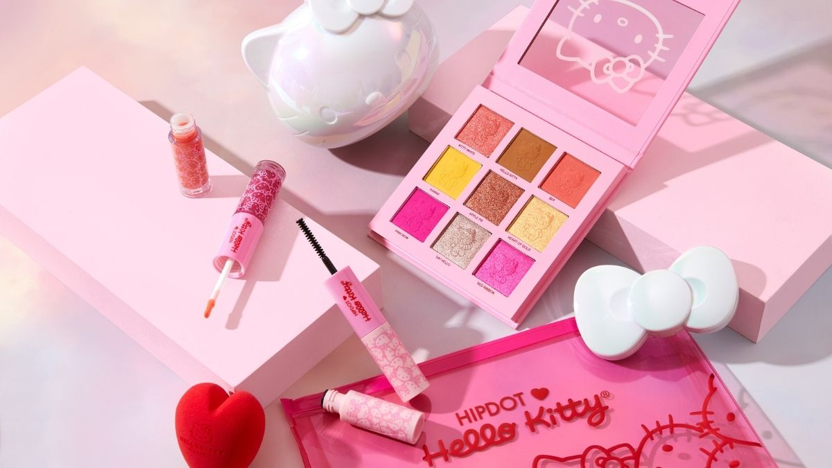 Super Cute: HipDot Makeup Teams Up With Hello Kitty for 4-Product Collection