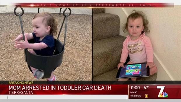 (DGO) Tierrasanta La madre del niño fue encontrada muerta en el automóvil arrestado