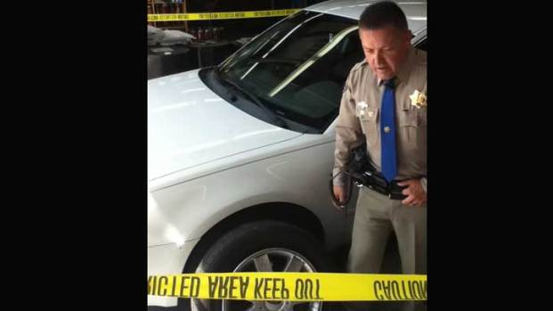 Driver Dove for Cover in Highway Shooting  NBC 7 San Diego