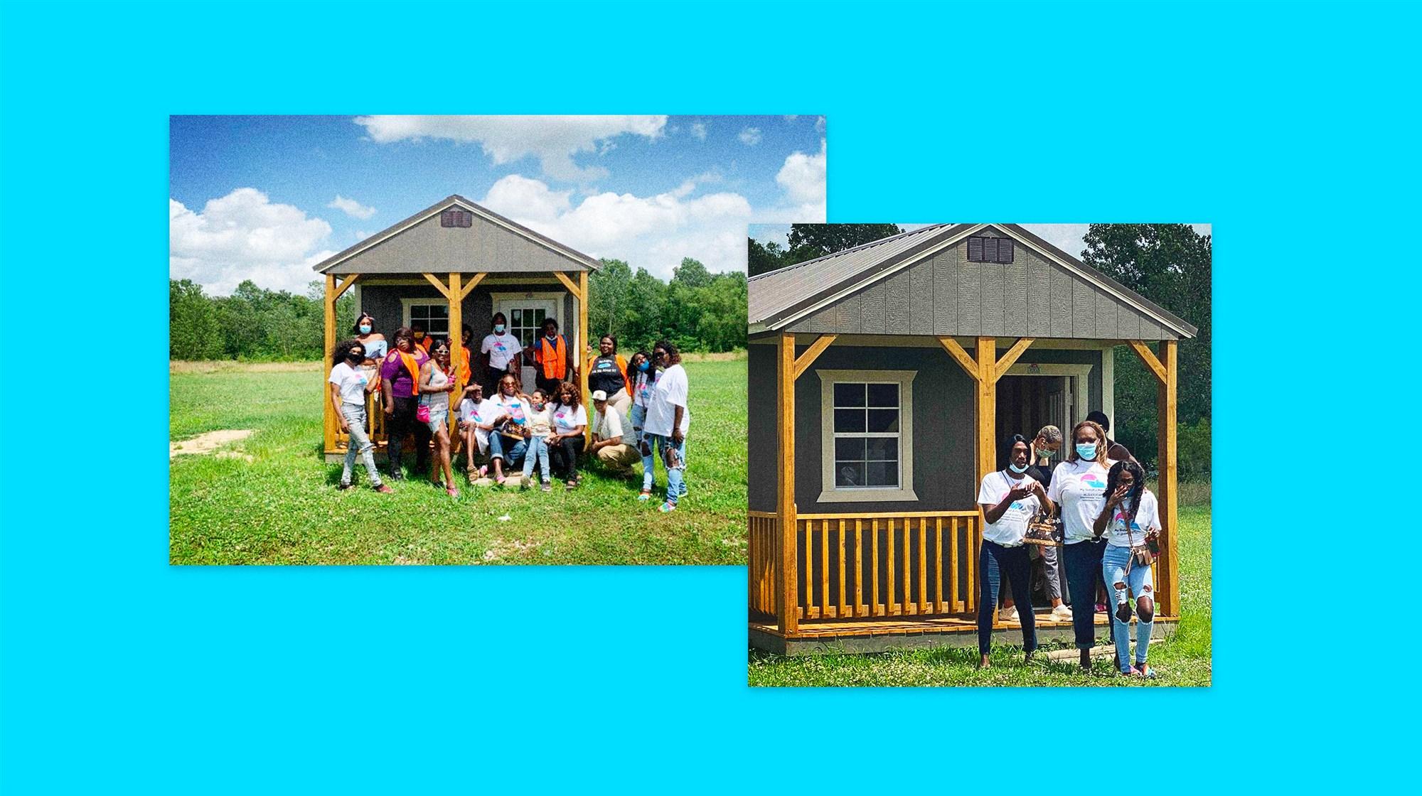 Nonprofit Hopes To Build 20 Tiny Homes For Black