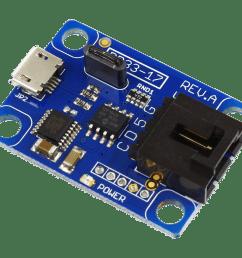 usb to i2c converter with virtual com port ft230xs [ 2048 x 1668 Pixel ]