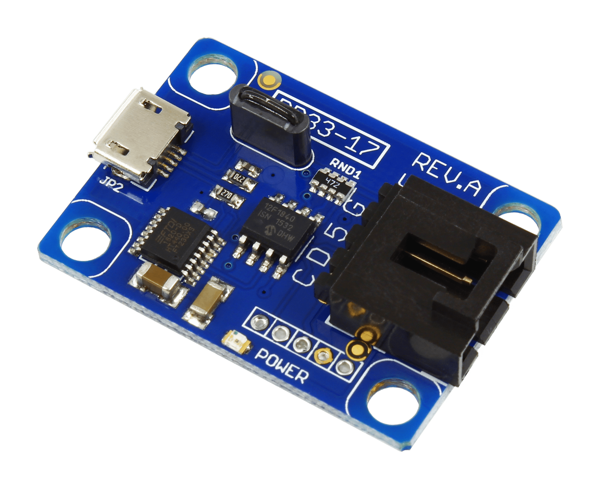 hight resolution of usb to i2c converter with virtual com port ft230xs