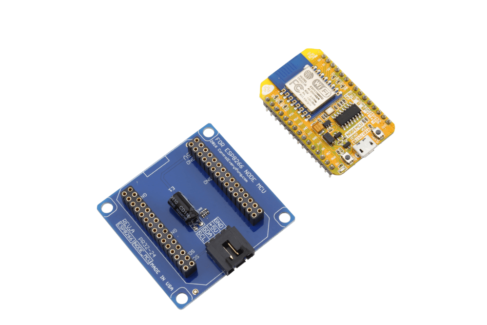 medium resolution of nodemcu esp8266 host adapter with integrated usb and i2c expansion port