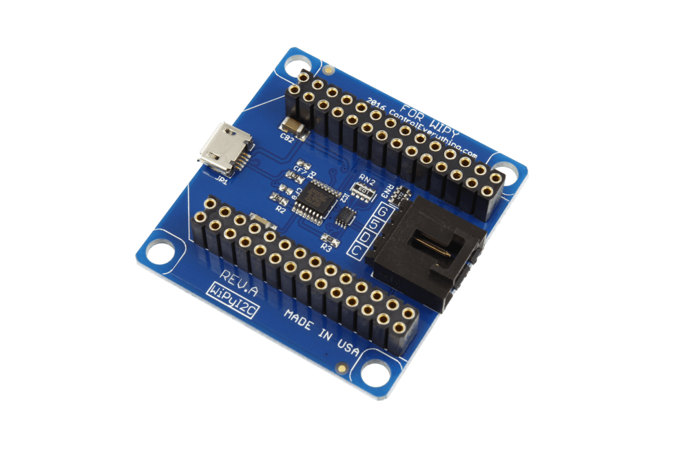 medium resolution of i2c shield for wipy with usb port