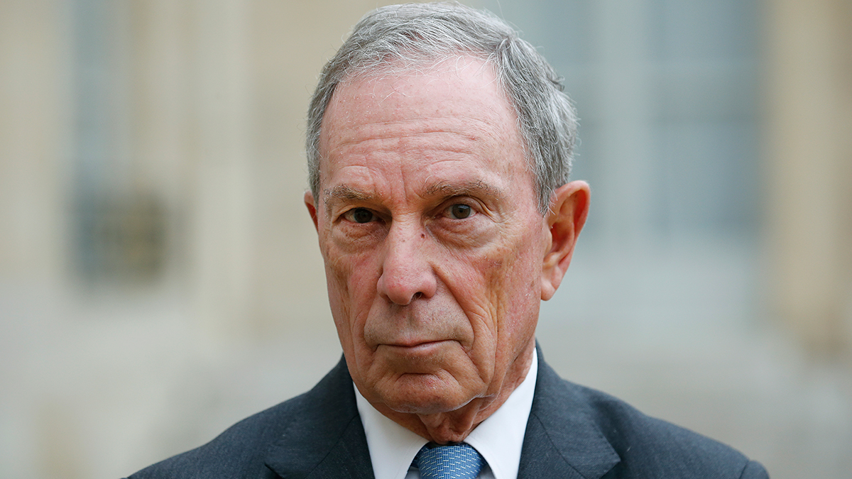 Mike Bloomberg Files Federal Paperwork To Run For