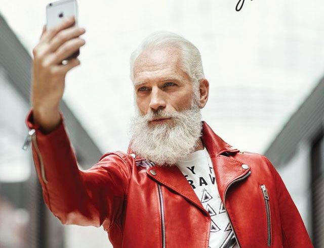 Meet The New Santa Claus Who Is Super Fashionable And Raises Money For Sick Kids