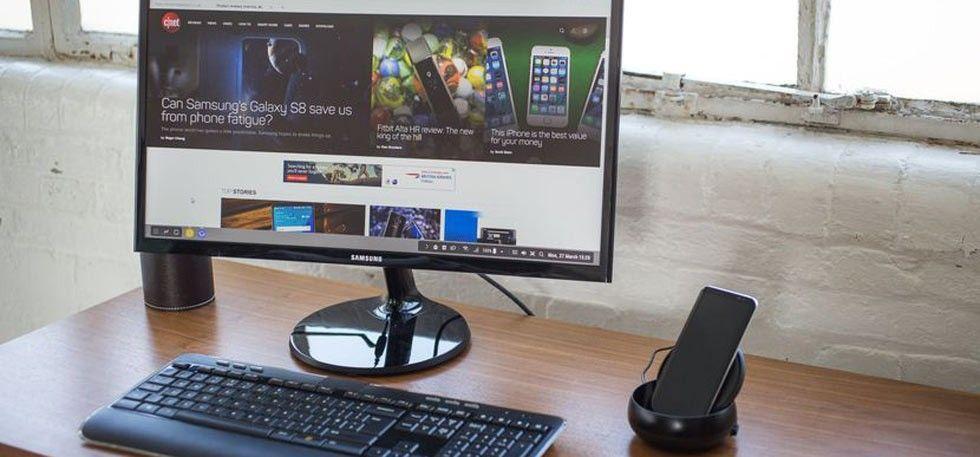 Samsung Dex Transforms The Galaxy S8 Into A Computer