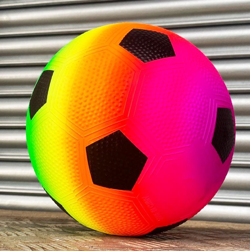 Champions league, europa league draws & schedule. Urban Rainbow Neon Football