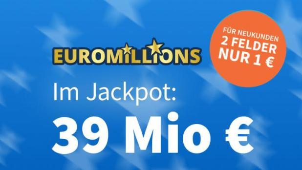 Am Freitag, 23.07.2021, liegen 24 Mio. Euro im Jackpot bei EuroMillions (Foto)
