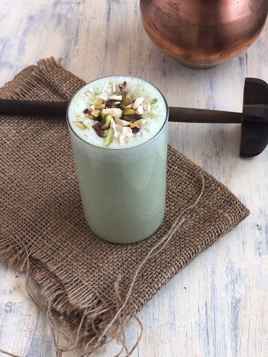 Sweet and Spicy Mint Pudina Lassi Recipe Buttermilk 2 1600 - Daily Mail India