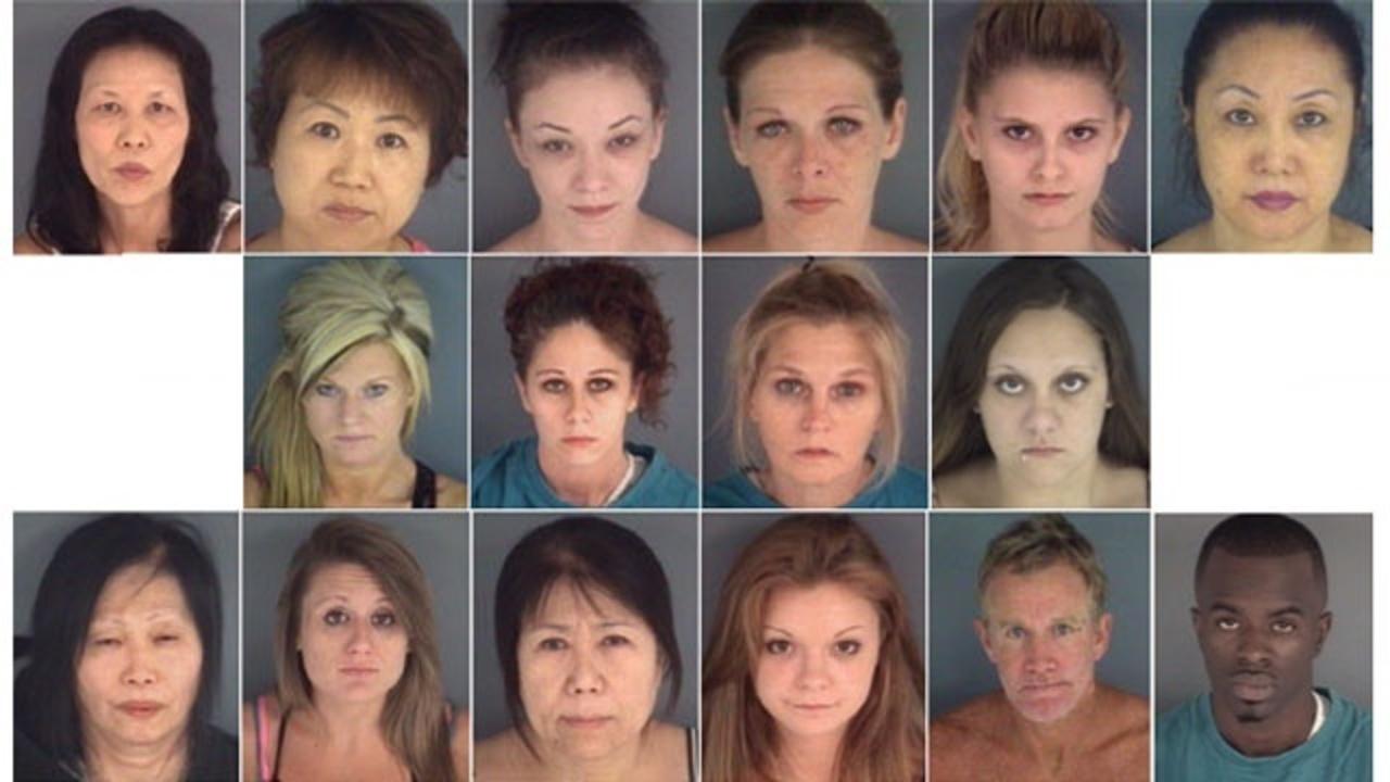 16 arrested in Orange Park prostitution bust