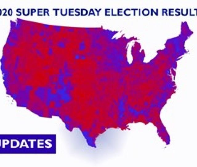 Nbc News Live Super Tuesday Results Map Newscentermaine Com