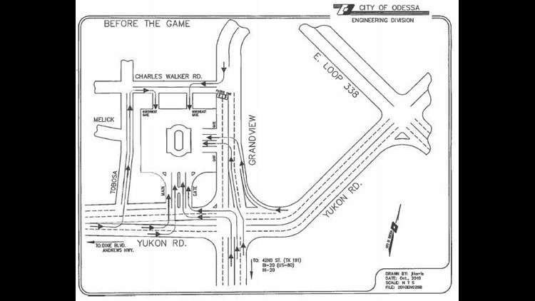 Traffic Flow Plans Released For OHS vs. Permian Football