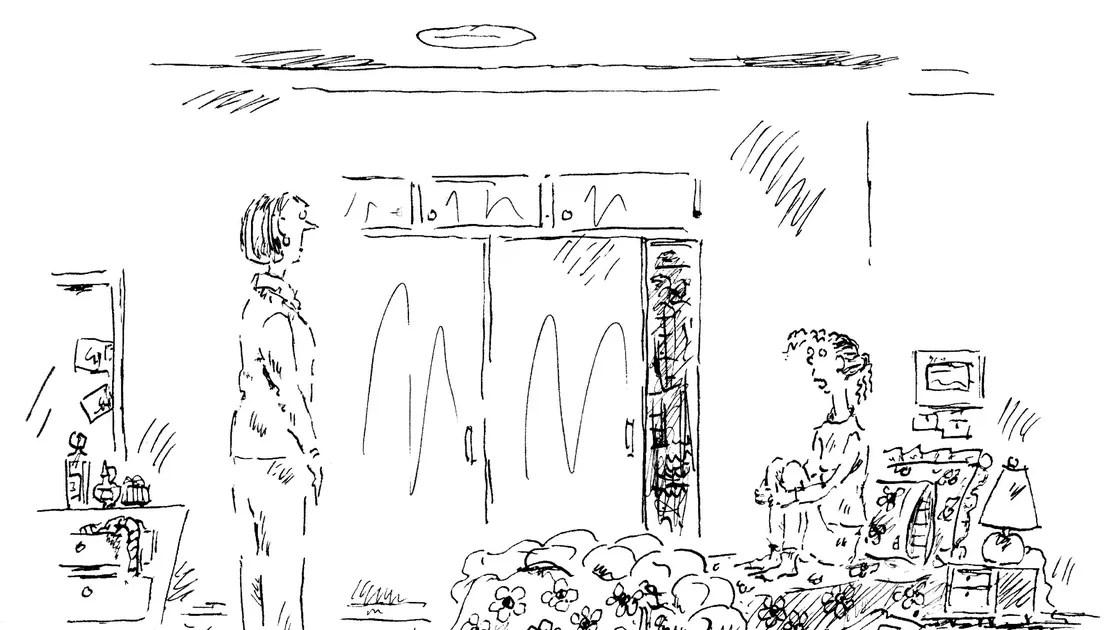 Image result for good morning mr johnson far side cartoon