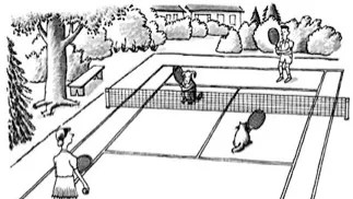 Tennis Manners  The New Yorker