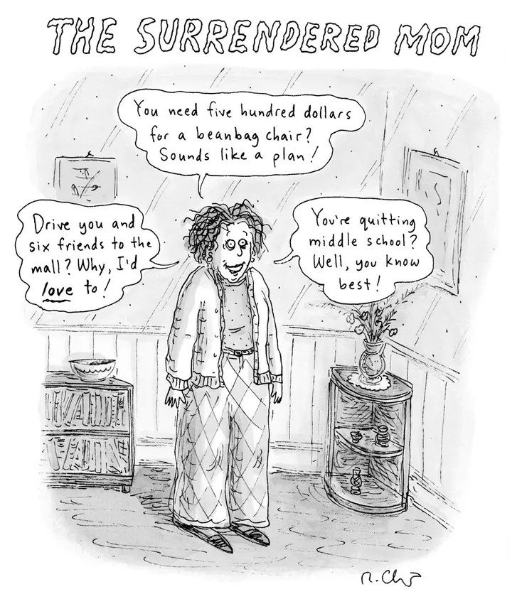 Cover Story Roz Chast Celebrates Mothers Day  The New