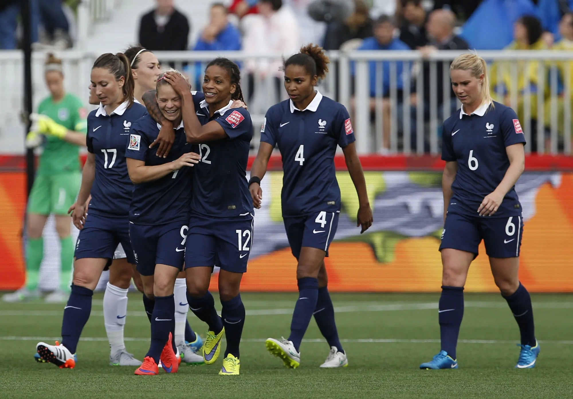 Only 46 of those players can dress in uniform and play in a game. French Women Are Taking Over Soccer The New Yorker