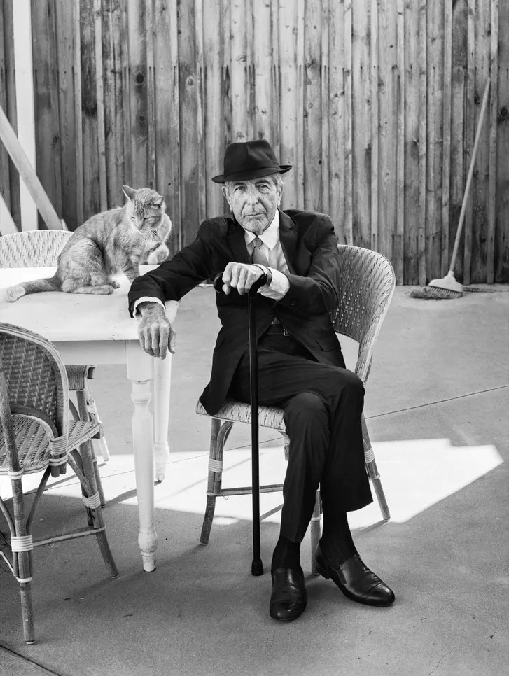 chair dance ritual song mesh camping leonard cohen makes it darker the new yorker